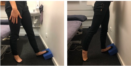A great stretch to increase ankle mobility is the nclined ankle dorsiflexion stretch